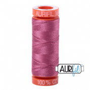 Aurifil 50 Cotton Thread - 2452 (Dusty Rose)